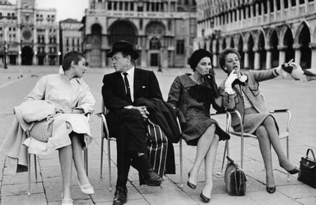 4 Carla Gravina, Van Heflin, Silvana Mangano e Jeanne Moreau