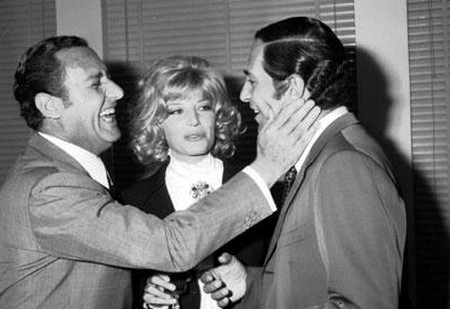 4 Nino Manfredi con Alberto Sordi e Monica Vitti