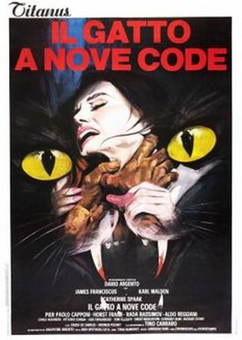 7 Il gatto a nove code locandina