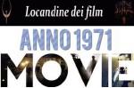 Banner locandine 1971