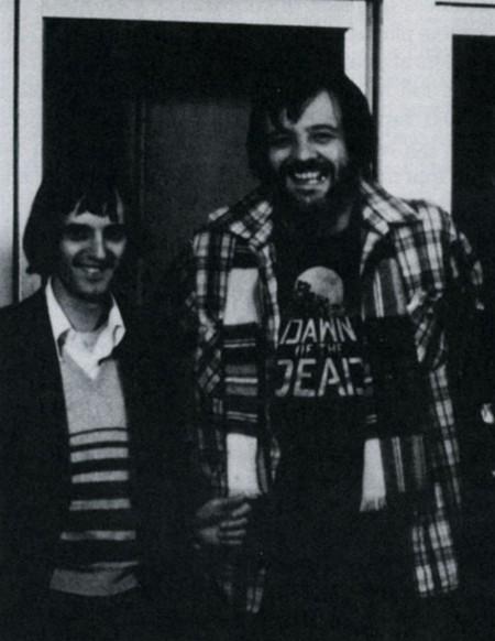 Dario Argento foto 16 con Romero