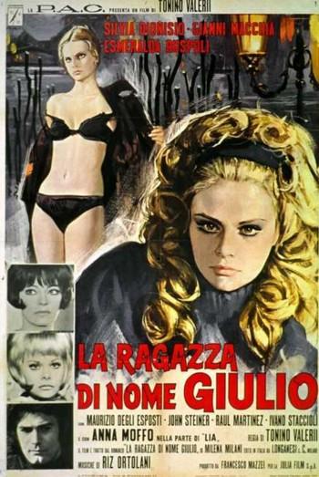 La ragazza di nome Giulio locandina