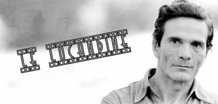 Pier Paolo Pasolini foto banner locandine