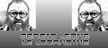 Sergio Leone banner locandine
