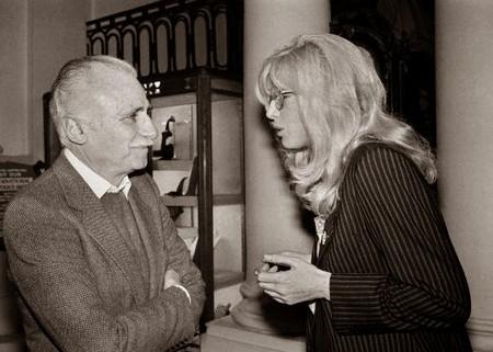 02 Monica vitti e Mario Monicelli