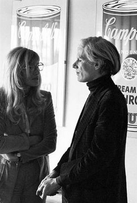 02 Monica vitti e Monica Vitti e Andy Warhol.