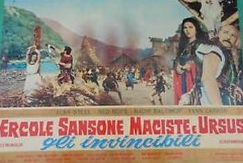 3-2 Ercole, Sansone, Maciste e Ursus gli invincibili
