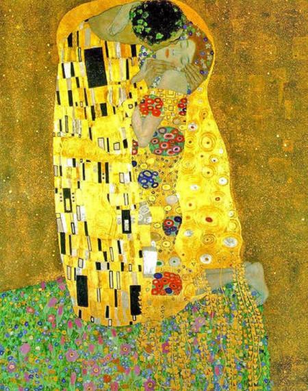 5-10 Klimt il bacio Belvedere Palace Museum Vienna
