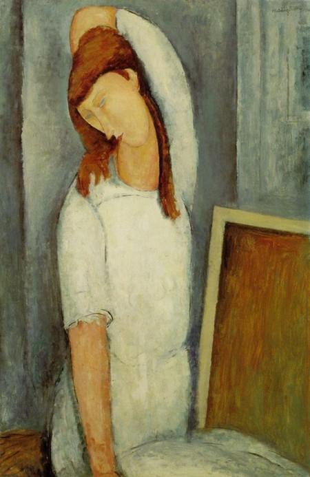 5-13 Modigliani ,Jeanne Hebuterne Fondazione Barnes a Merion in Pennsylvania.