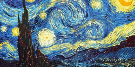 5-18 Van Gogh Notte stellata Museum of Modern Art di New York