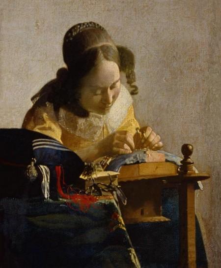 5-19 Jan Vermeer La merlettaia Louvre Parigi