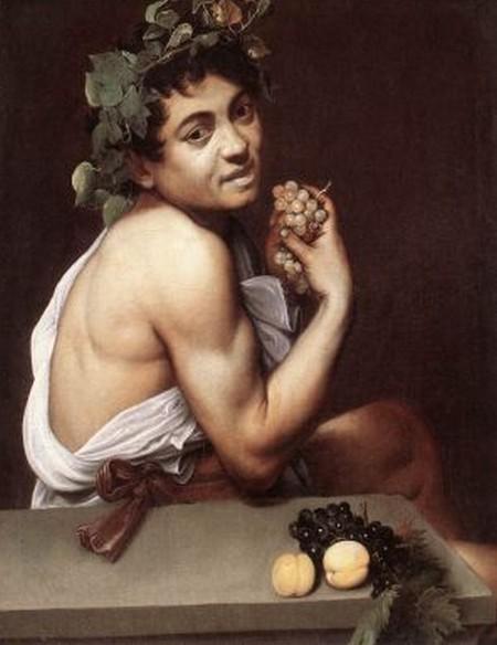 5-3 Caravaggio Bacchino malato,Galleria Borghese a Roma