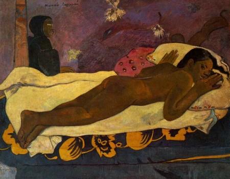 5-6 Paul Gauguin, Manao Tupapau Lo spirito dei morti veglia,Buffalo Knox Albright gallery