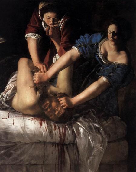 5-7 Artemisia Gentileschi Giudtta e Oloferne Museo di Capodimonte Napoli