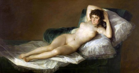 5-8 Francisco Goya Maya desnuda Museo del Prado di Madrid.