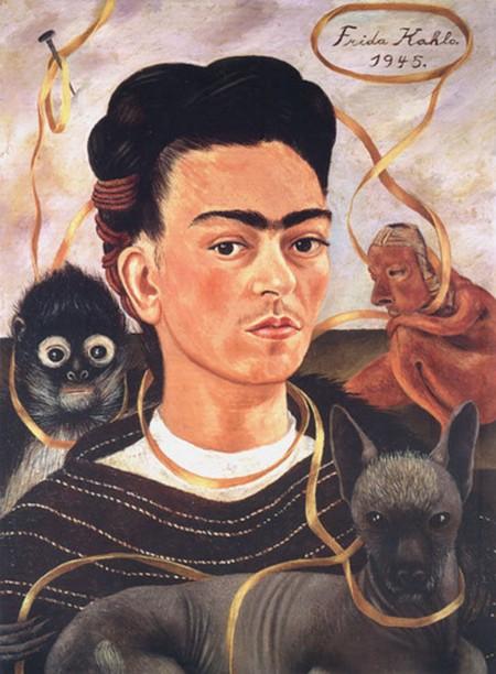 5-9 Frida Kahlo Viva Mexico Museo Dolores Olmedo Città del Messico