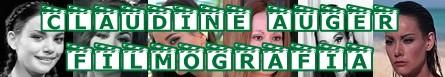 Claudine Auger- Banner filmografia
