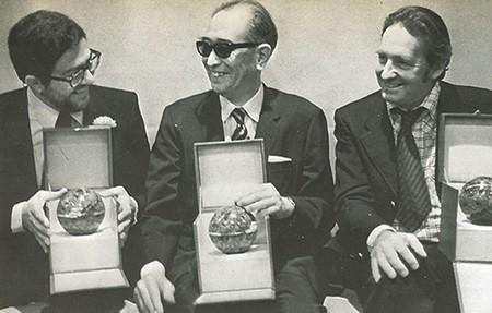 Ettore Scola foto 10 Ettore Scola, Akira Kurosawa, Andrzej Wajda