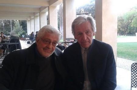 Ettore Scola foto 19 con Gavras