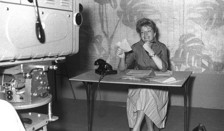 Monica Vitti tv Cinelandia 1959