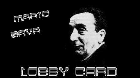 Mario Bava banner lobby card