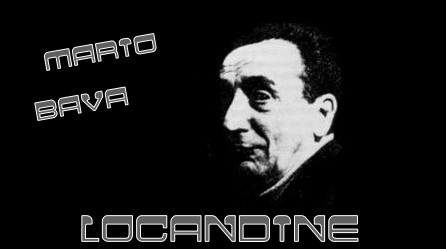 Mario Bava banner locandine