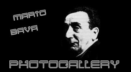 Mario Bava banner photogallery