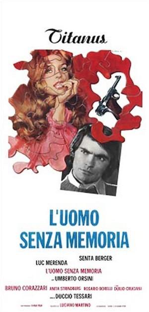 L'uomo senza memoria locandina italiana