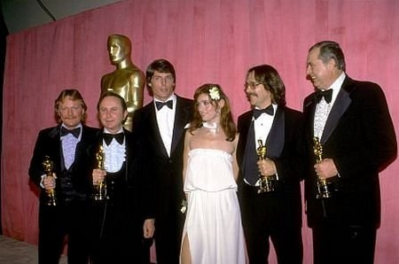 Richard Portman, William McCaughey, Aaron Rochin e Darin Knight Oscar miglior sonoro