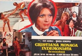 Cristiana monaca indemoniata lobby card 1