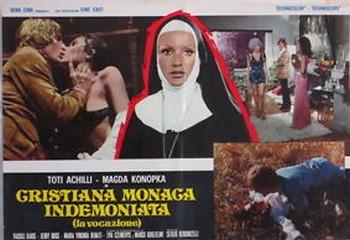 Cristiana monaca indemoniata lobby card 3