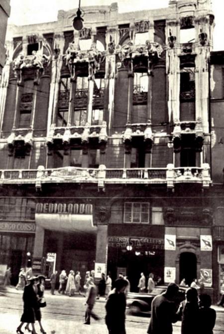 a- Cinema Mediolanum Milano bombardato
