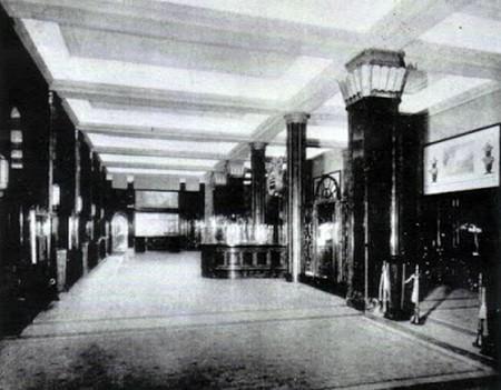 Cinema Odeon Milano interno