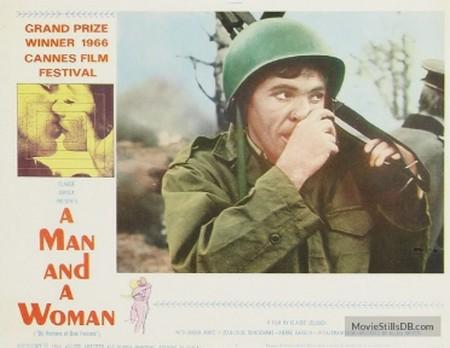 Un uomo,una donna locandina lobby card 1