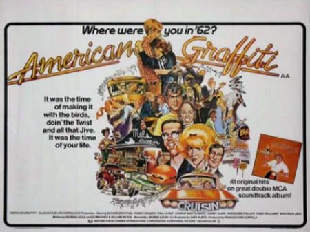American graffiti locandina poster 1