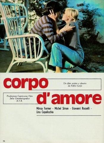 Corpo d'amore locandina 2