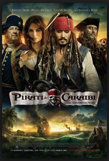 13 Pirati dei Caraibi - Ai confini del mondo locandina