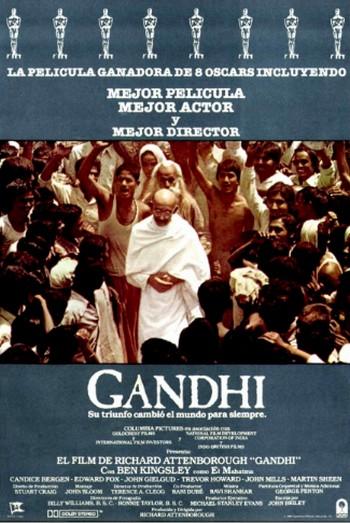 14 Gandhi locandina