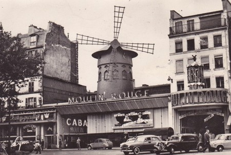 Cinema Moulin Rouge Parigi