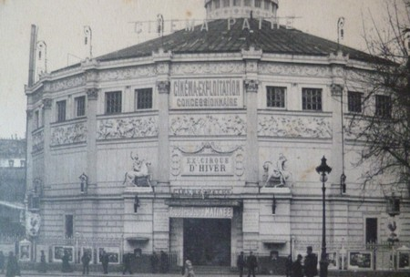 Cinema Pathe Parigi