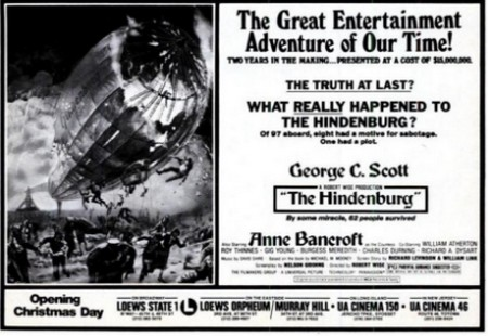 Hindenburgh locandina 4