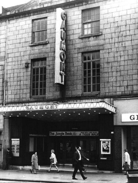 Cinema Gaumont Aberdeen Scozia