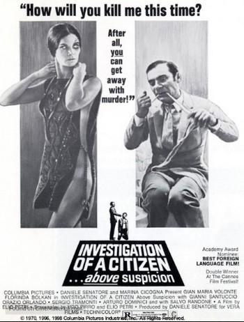 Indagine su un cittadino al di sopra di ogni sospetto locandina 8