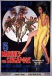 2-15 Cinque marines perSingapore