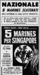 6-15 Cinque marines perSingapore