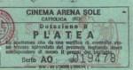 Biglietto Cinema Arena SoleCattolica