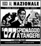S077 spionaggio aTangeri