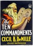 I dieci comandamenti Locandina5