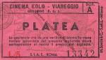 Biglietto Cinema EoloViareggio