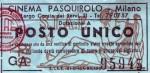 Biglietto Cinema PasquiroloMilano